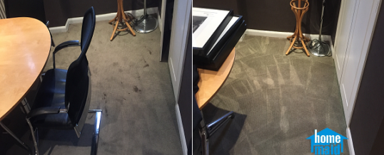 Boardroom office carpet cleaning in Sloane Square, London SW3
