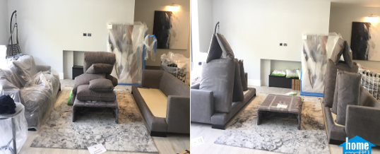 Removing bad sofa smells and dust in Warwick Avenue, London W9