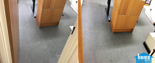 Professional office carpet cleaning in Old Street, London EC2